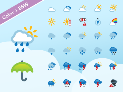 Picons weather dribbble