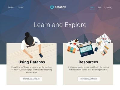 Knowledge webpage getting started databox resources articles support help