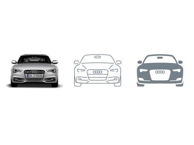 Creating an icon (line & glyph) picons vector icons icon design icon