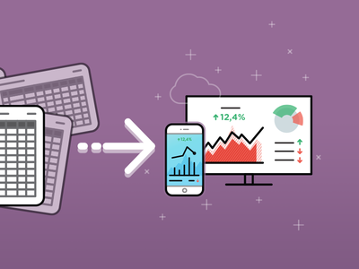 Converting Spreadsheets into Dashboards illustration vector dashboard picons databox google spreadsheet