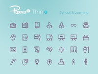 Picons Thin 2: School & Learning