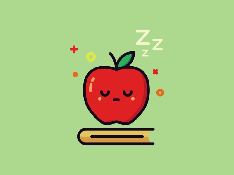 Sleeping Apple