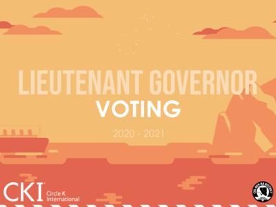 Lieutenant Governor Voting