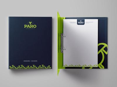 PARO Coffee folder