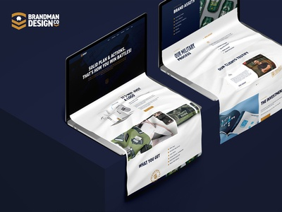 Brandman Design Co Capabilities Page