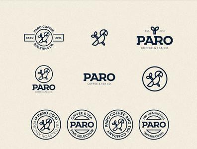 PARO Coffee & Tea | Logo lockups