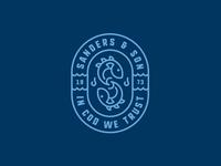 Sanders & Son - logo concept