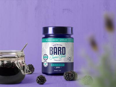 Bard Blackberry Jam packaging