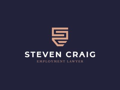Steven Craig - lawyer logo concept