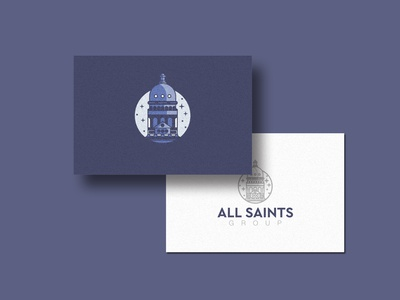 AllSaints Consulting Group Business card
