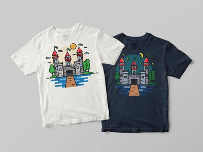 Little Camelot Castle - T-shirts