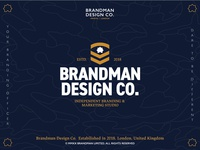 New Identity  - Brandman Design Co.