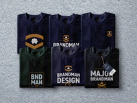 Brandman Design Co. Branded Tee's
