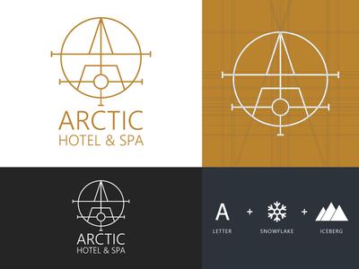 Arctic Hotel & Spa - Logo Design