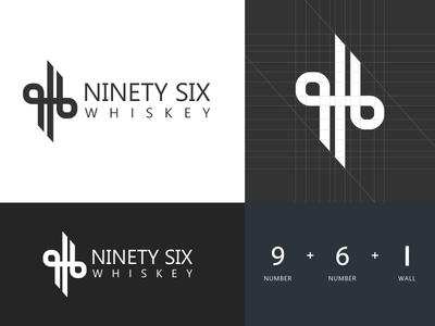 Ninety Six Whiskey - Logo Design