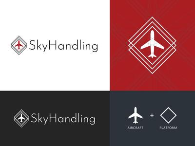 SkyHandling - Logo Design