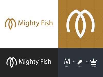 Mighty Fish - Logo Design