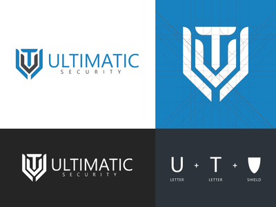 Ultimatic Security - Logo Design