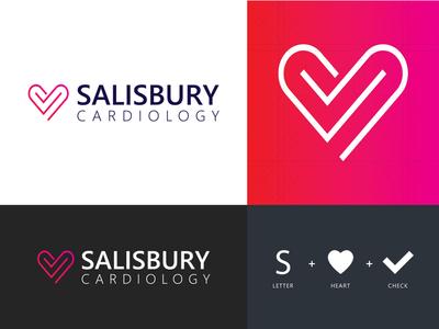 Salisbury Cardiology - Logo Design