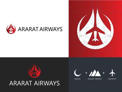 Ararat Airways - Logo Design