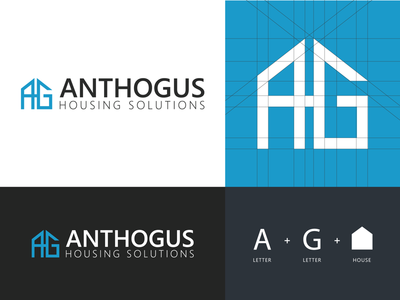 Anthogus Housing Solutions - Logo Design