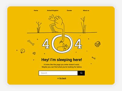 DailyUI 08 - 404 Page - Service Design Club illustration ui daily iu challenge web design daily ui 404 error 404