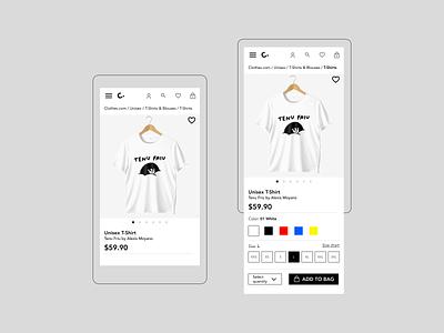 DailyUI 12 - Single Product - Service Design Club
