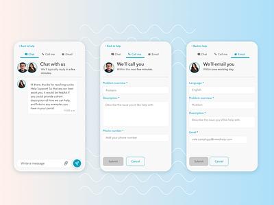 DailyUI 13 - Messaging - Service Design Club ui challenge daily ui graphic design mobile ui