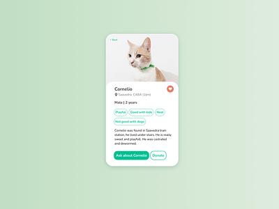 DailyUI 13 - User profile - Service Design Club