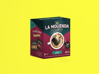 Coffee pack warmup packaging design
