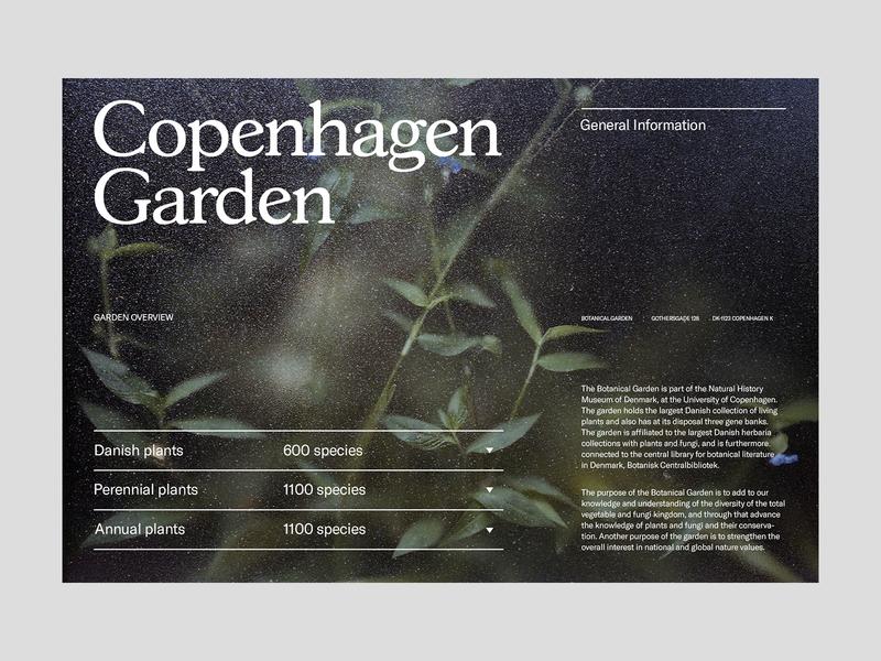 Copenhagen Garden — Main Page