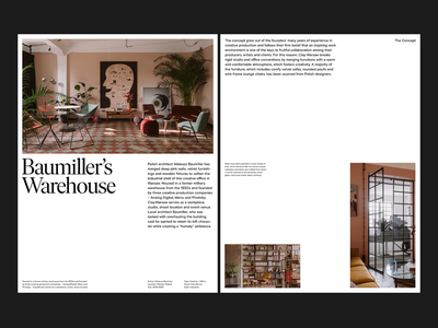 Baumiller Architects — Layouts branding website ux photography art direction design grid web minimal typography