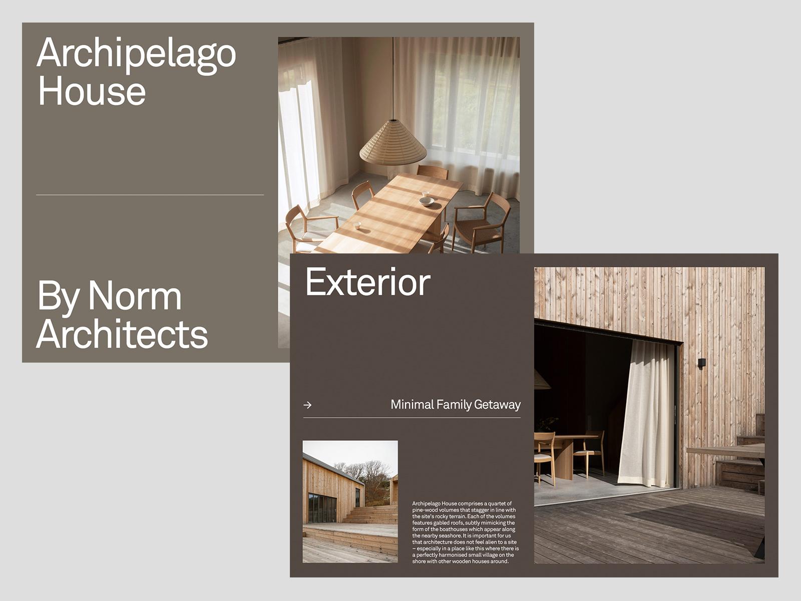 Archipelago House — Presentation