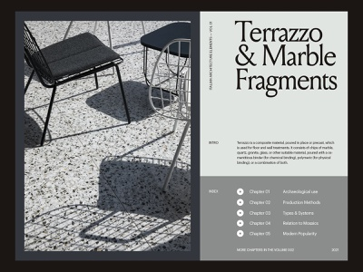 Italian Architecture — Layout website minimal web art direction grid layout typography