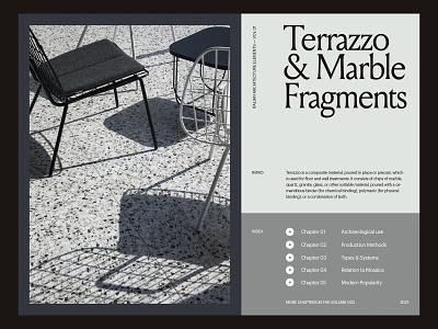Italian Architecture — Layout website minimal web art direction grid layout typography