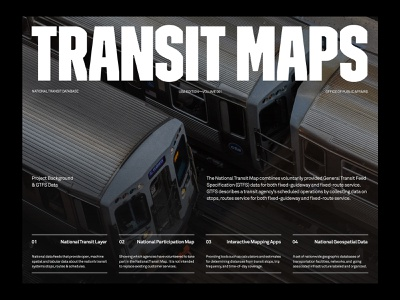 Transit Maps — Website branding website art direction ux layout minimal typography