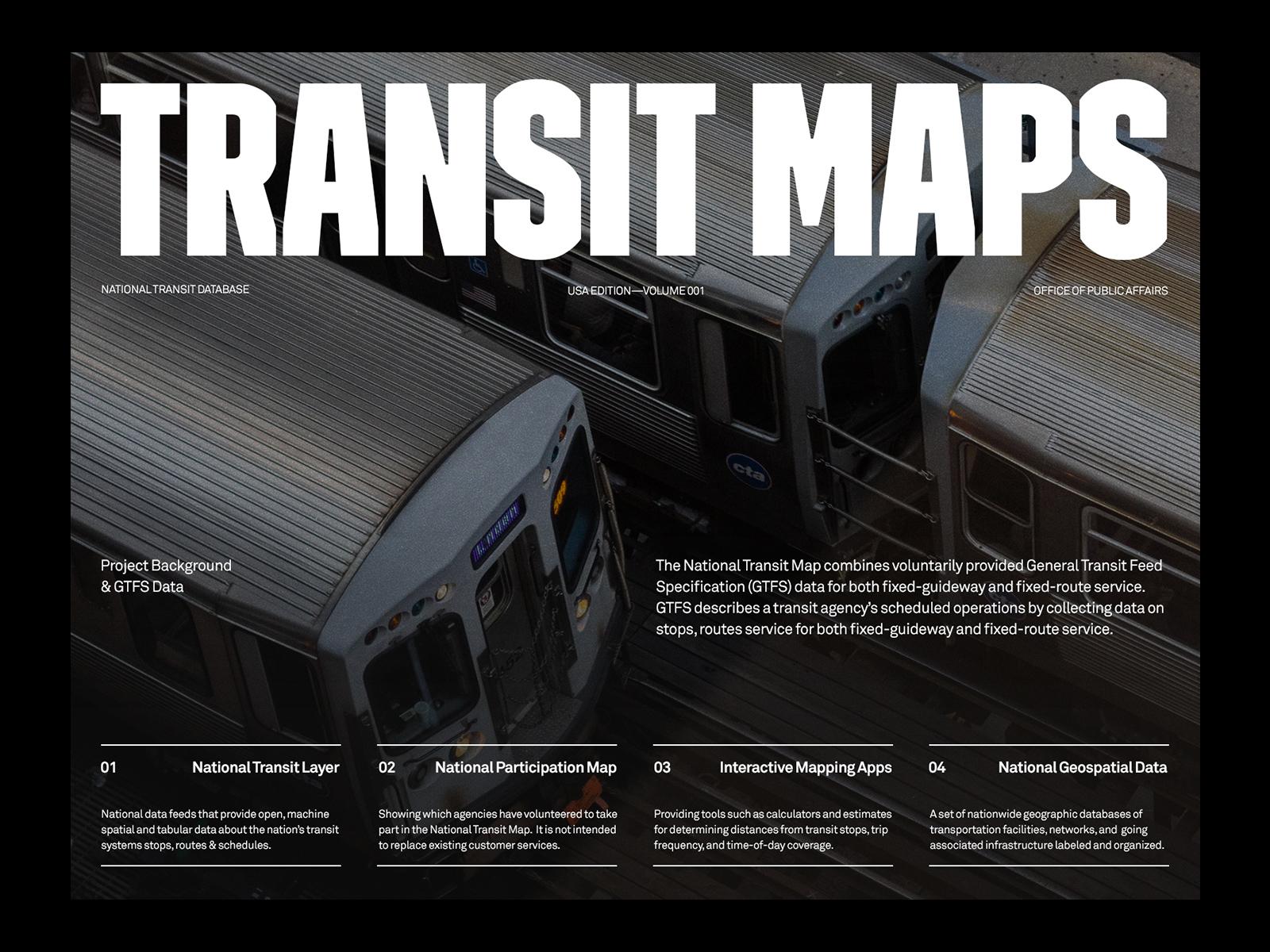 Transit Maps — Website