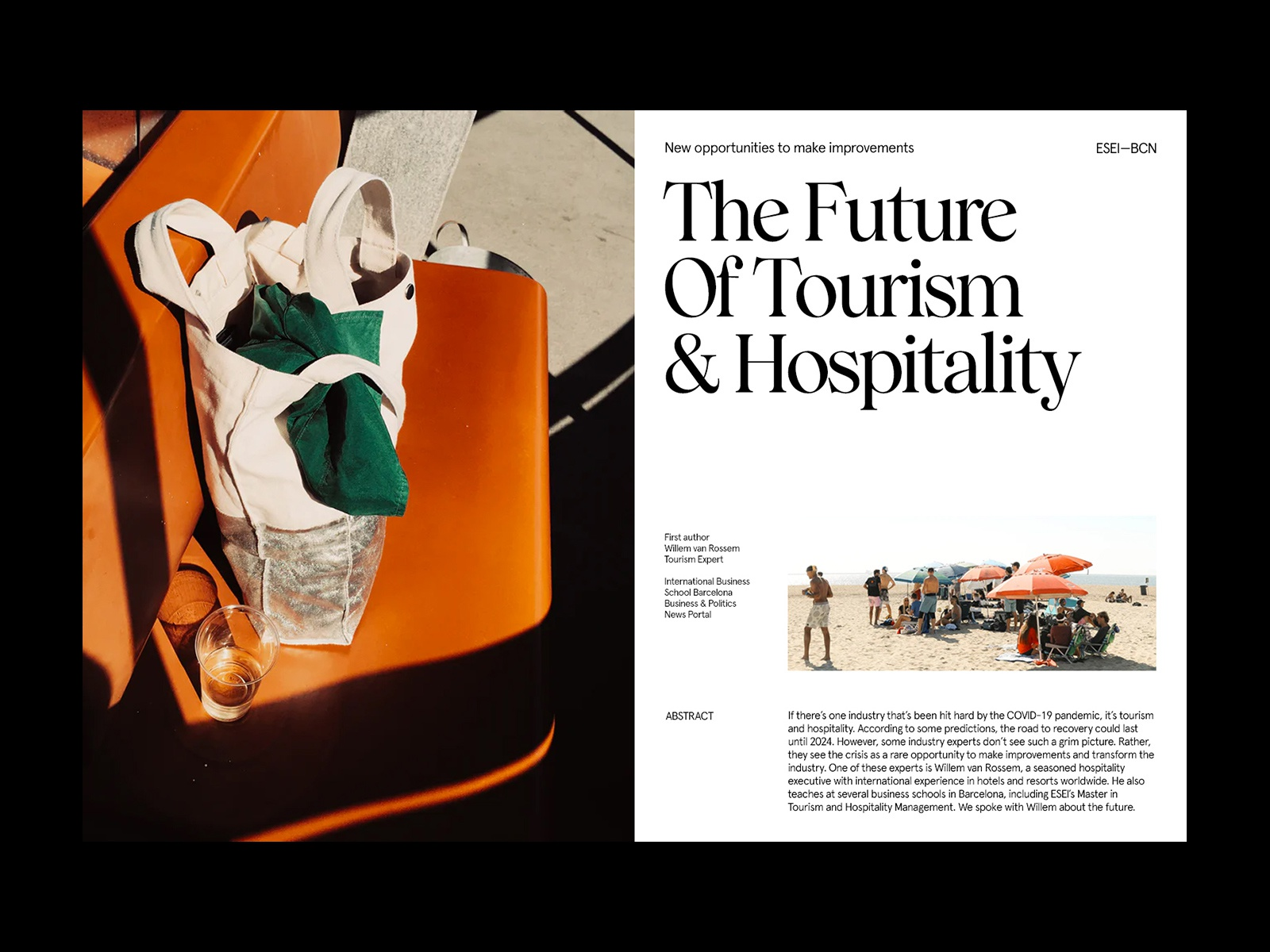 The Future Of Tourism — Article