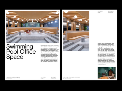 Interior Magazine — Layout design magazine branding photography art direction grid layout minimal typography