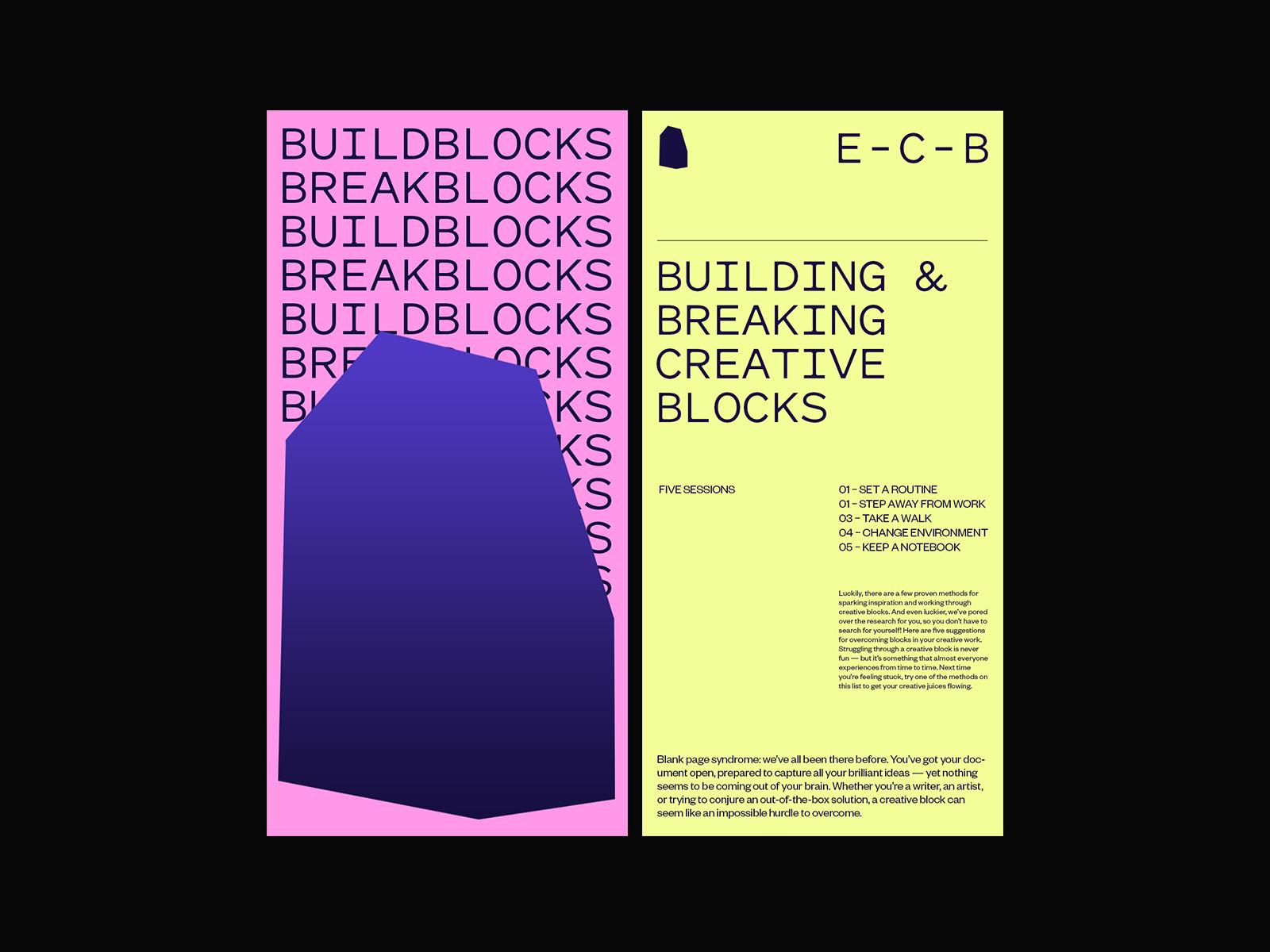 Creative Blocks – Layout
