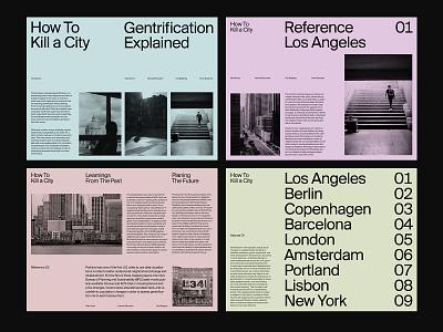 Presentation Layouts design ux grid presentation design presentation website web art direction layout minimal typography