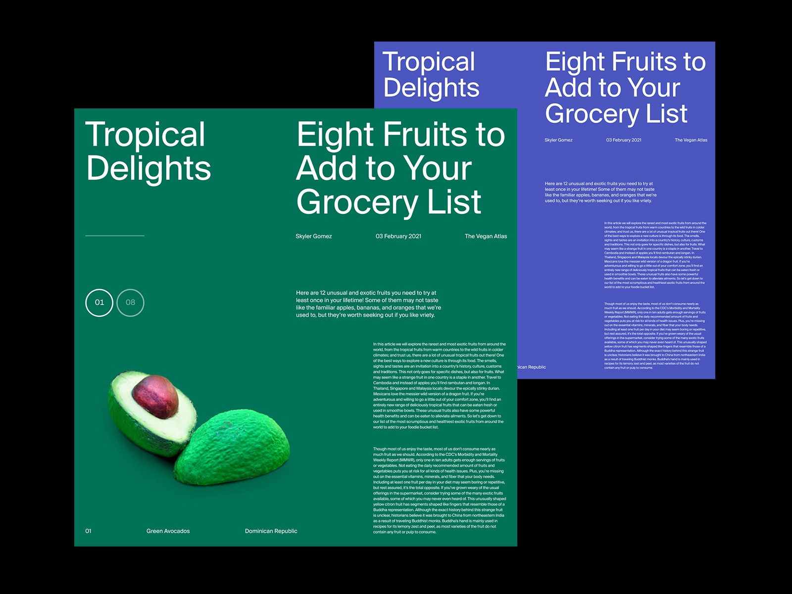 Tropical Delights – Articles