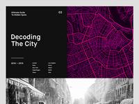 Decoding The City — Website