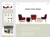 Italian Furniture — Website