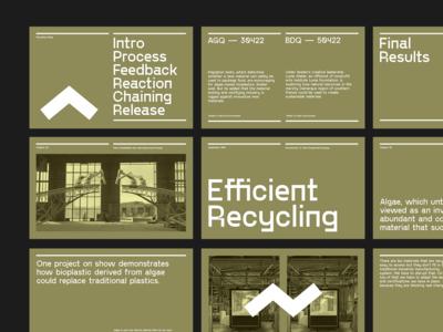 Keynote Slides — Efficient Recycling