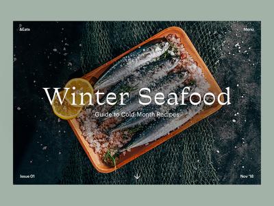 Winter Seafood — Landing