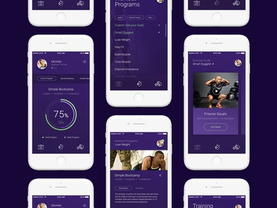 Fitness & Workout — Mobile App