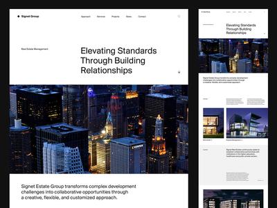 Real Estate — Website