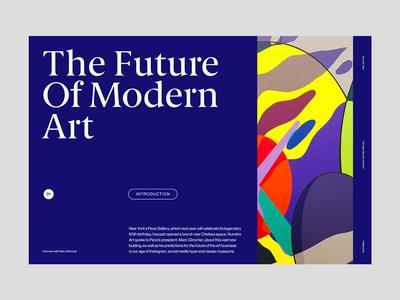 Modern Art — Website