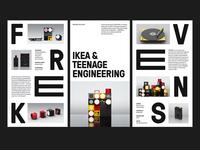 IKEA X Teenage Engineering — Layouts